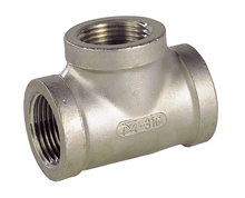 Tes femelles/femelles/femelles inox 316 GAZ