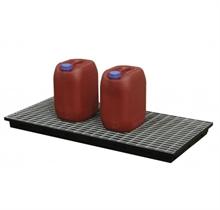 Planchers de rétention polyéthylène caillebotis acier galvanisé