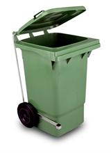 Collecteurs à déchets avec couvercle