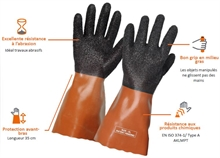 Gants Gaspro - Protection hydrocarbures