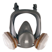 Masque intégral 6800 3M™ avec cartouches A2P3