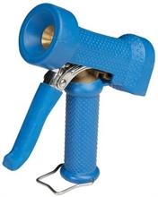 Pistolet de lavage bleu