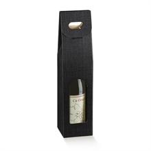 Etuis boites 1 bouteille de vin - fenêtre et poignée