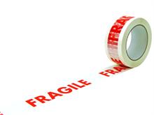 Rubans adhésifs PP imprimés Fragile
