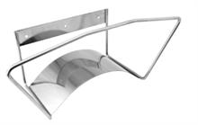 Supports muraux pour tuyaux inox
