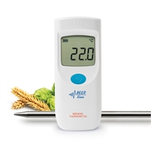 Thermomètres portatifs à thermistances IP65