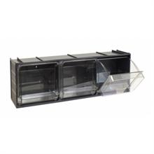 Tiroirs de rangement transparent Crystal Box alimentaires