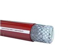 Tuyaux alimentaires acier gainé et guipage polyester METALPRESS WINE